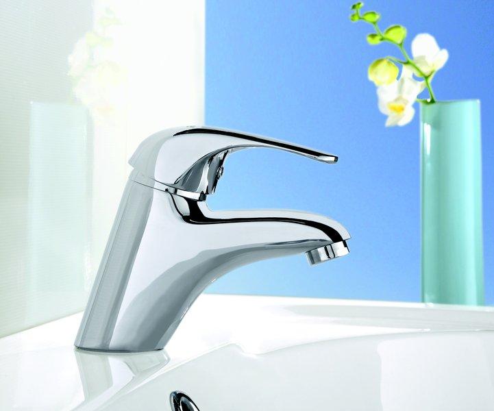 robinet sur pied de lavabo rosa avec vidange ravak a s. Black Bedroom Furniture Sets. Home Design Ideas