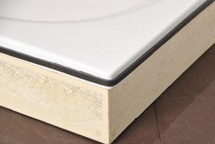 comment installer les baguettes de protection ravak a s. Black Bedroom Furniture Sets. Home Design Ideas