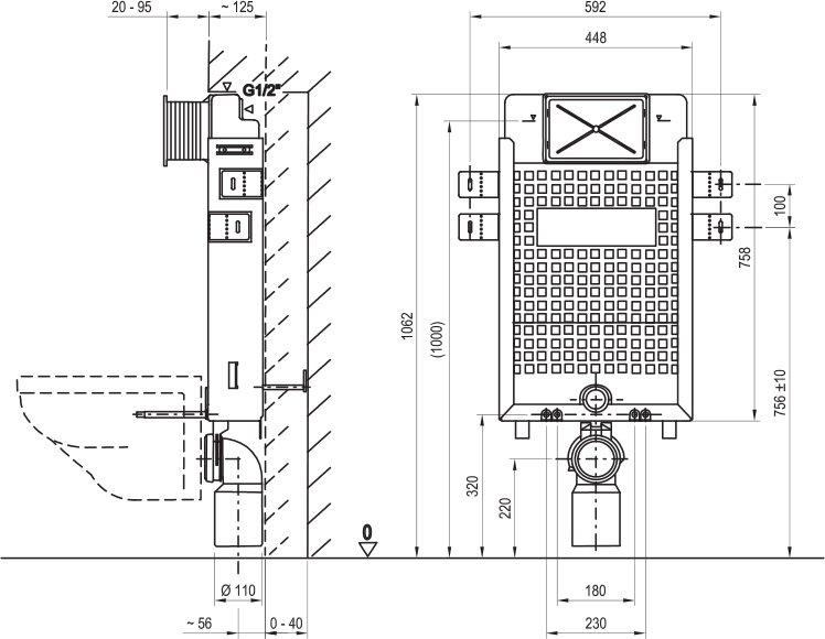 b ti wc suspendu w ravak a s. Black Bedroom Furniture Sets. Home Design Ideas