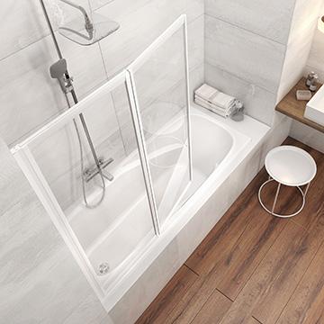 Pour prendre un bain ravak a s - Paravent de baignoire ...