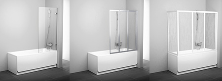 Paravent de baignoire vs3 ravak a s - Paravent de baignoire ...