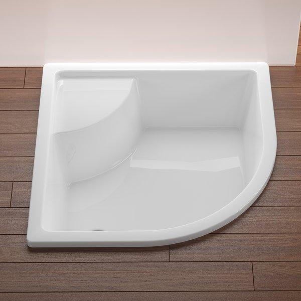 receveur de douche grande profondeur