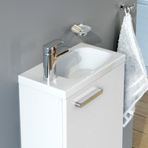 Petit lavabo Chrome 400