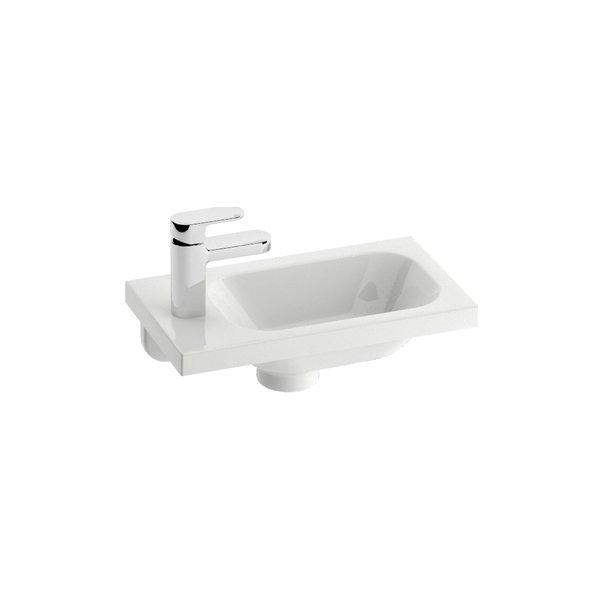Petit lavabo chrome 400 ravak a s - Paravent de baignoire ...